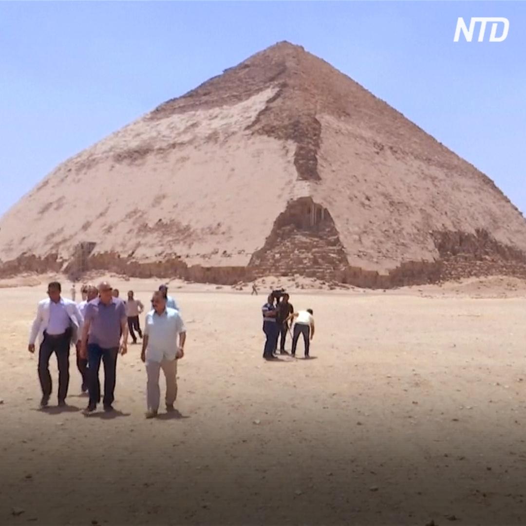 Загадочную «Ломаную» пирамиду возрастом 4600 лет открыли для туристов