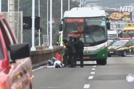Полиция Бразилии застрелила мужчину, захватившего автобус с пассажирами