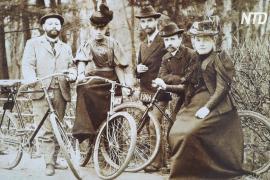 Выставка дореволюционных велосипедов проходит в Костроме