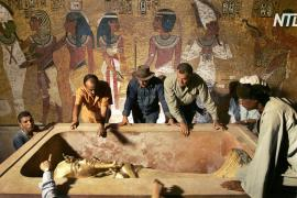 Позолоченный саркофаг Тутанхамона впервые отреставрируют