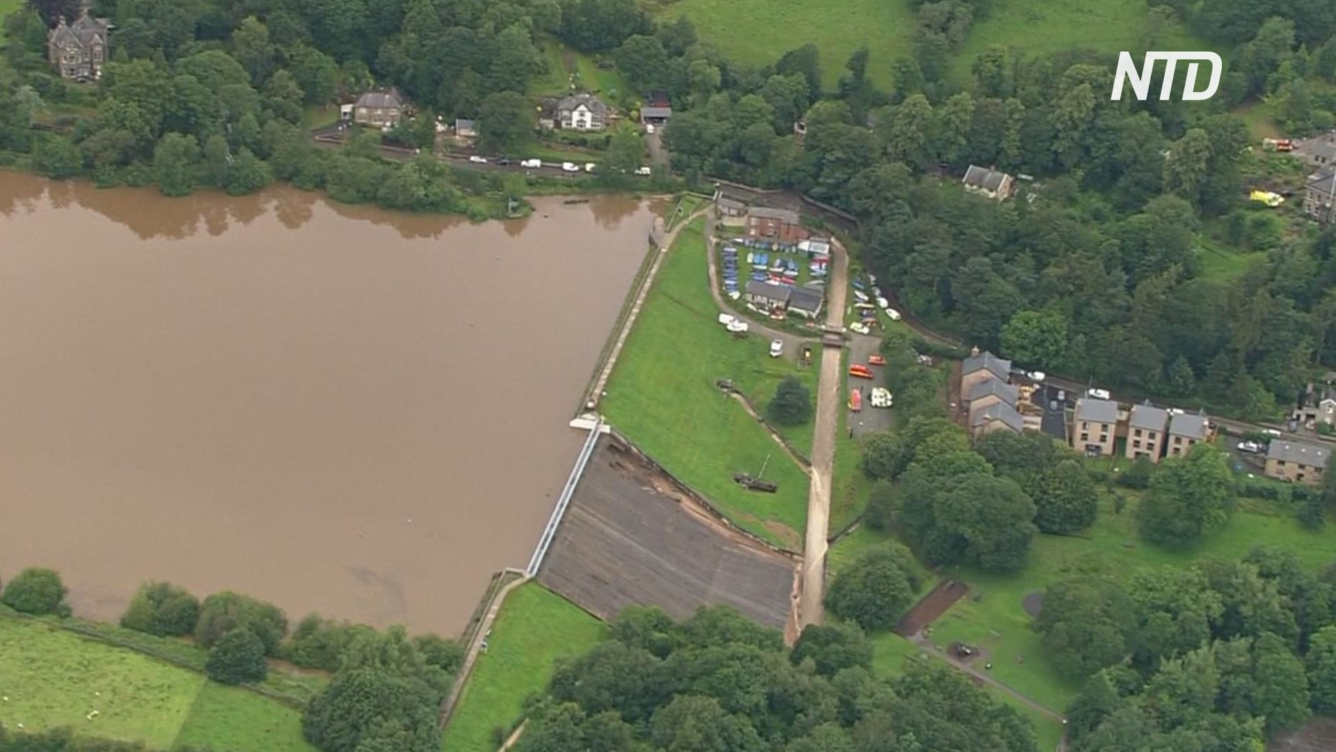 В Великобритании эвакуируют город из-за угрозы прорыва плотины