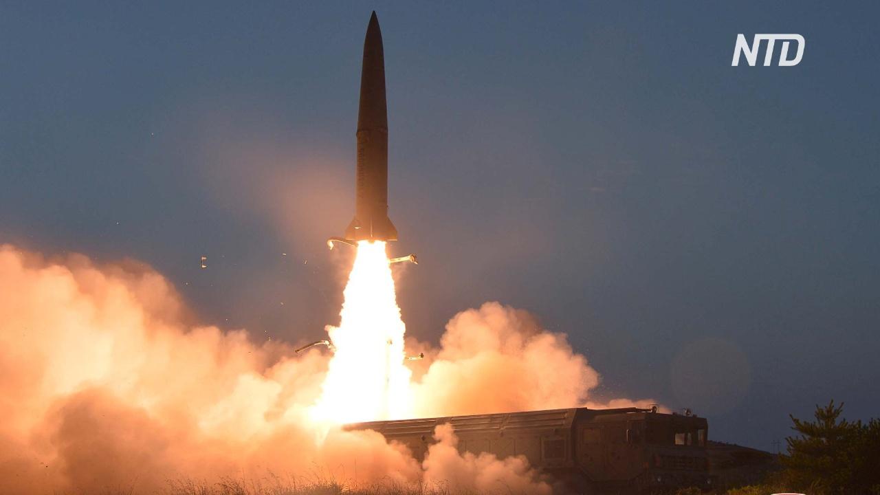 КНДР провела третьи ракетные испытания за неделю