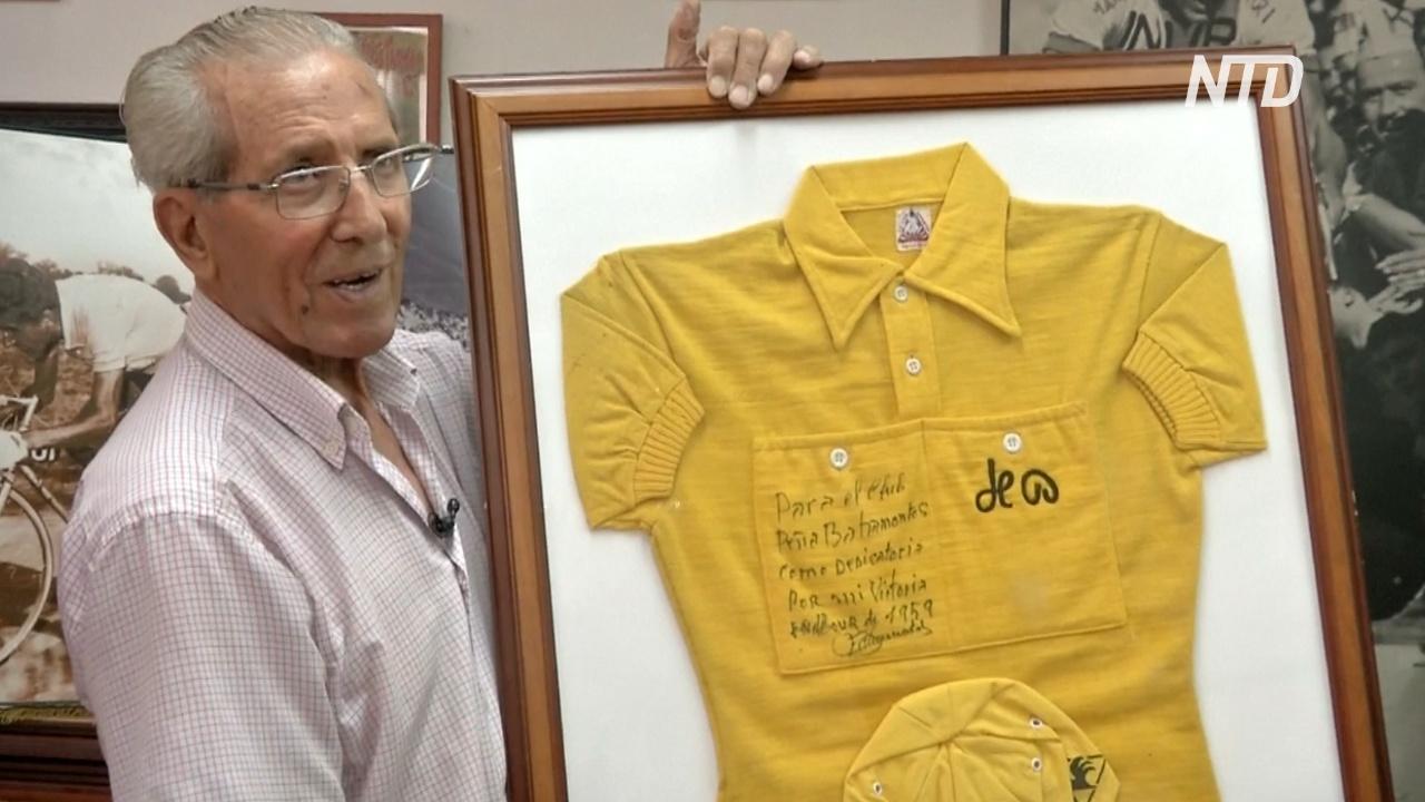 Испанский «горный король» «Тур де Франс» всё ещё крепок в свой 91 год