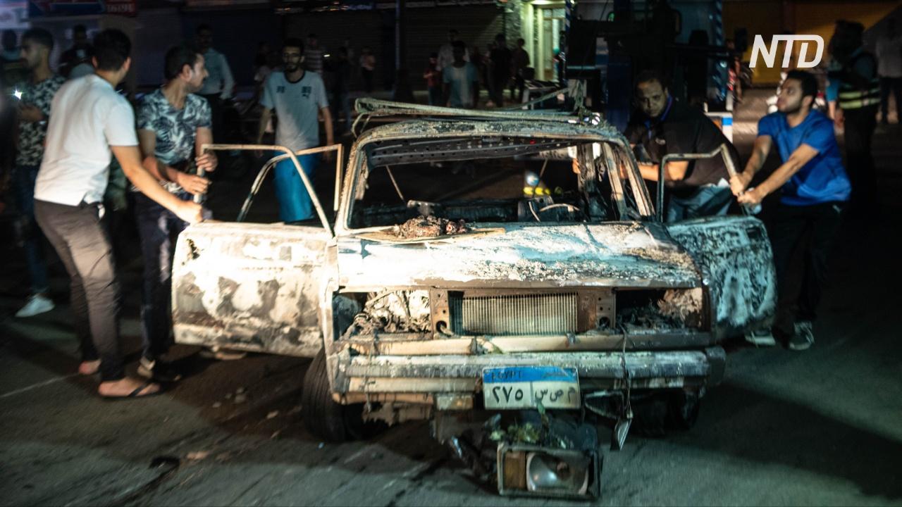 Гибель 20 человек в Каире: автомобиль был заминирован