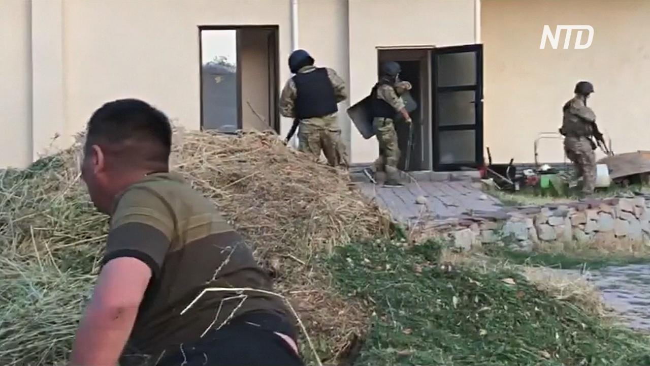Спецназ штурмовал дом экс-президента Кыргызстана