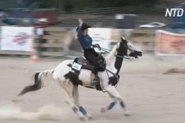 Юная полька взяла призовое место на Европейском фестивале ковбоев