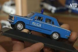Польский полицейский коллекционирует модели полицейских авто