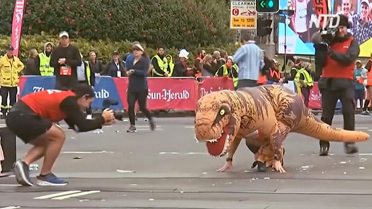 Более 80 тыс. человек поучаствовали в забеге в Сиднее