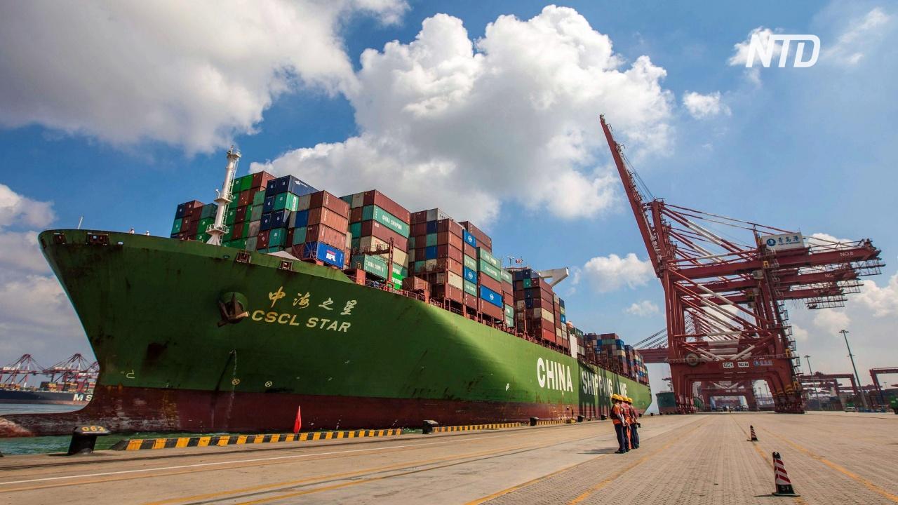 Рост объёмов производства в КНР снизился до 17-летнего минимума
