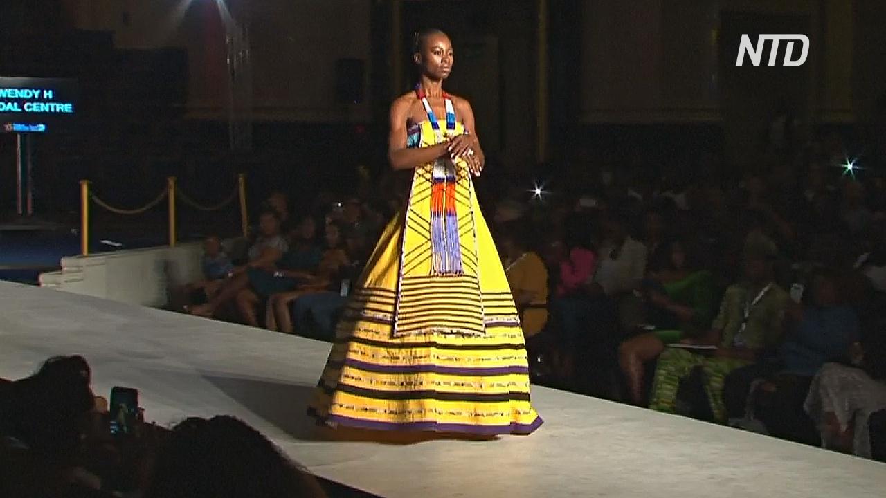 Африканскую моду показали в Лондоне