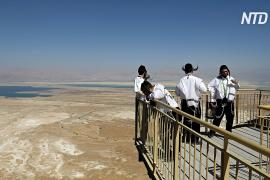 Мёртвое море мелеет с беспрецедентной скоростью
