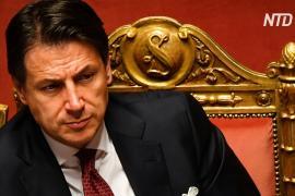 Премьер-министр Италии ушёл в отставку на фоне политического кризиса