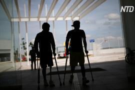 В Мексике помогают мигрантам, потерявшим ноги из-за поездки на «поезде смерти»
