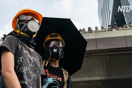 Протестующий в Гонконге: «Нам нужна демократия»