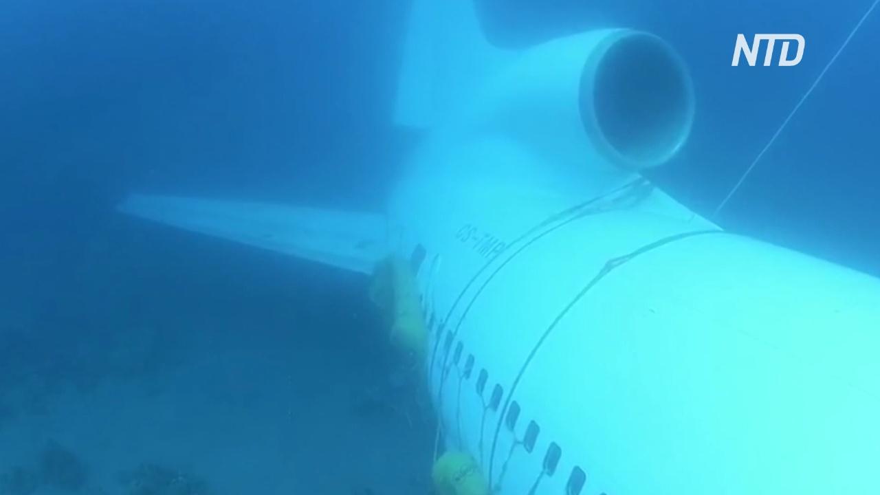 Авиалайнер на морском дне: как Иордания завлекает дайверов