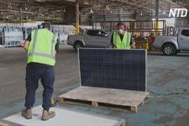 Выброшенные солнечные панели тысячами попадают на свалки Австралии