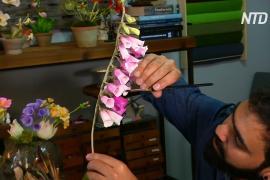 Не отличишь от настоящих: как индиец в Нью-Йорке делает бумажные цветы