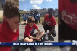 Мальчик отказался от победы ради спортивной солидарности