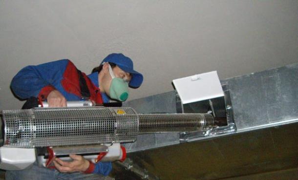 Дезинфекция систем вентиляции