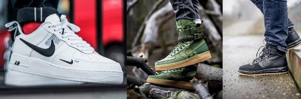 Krossovki Najk Air Fors - Nike – в числе самых продаваемых брендов