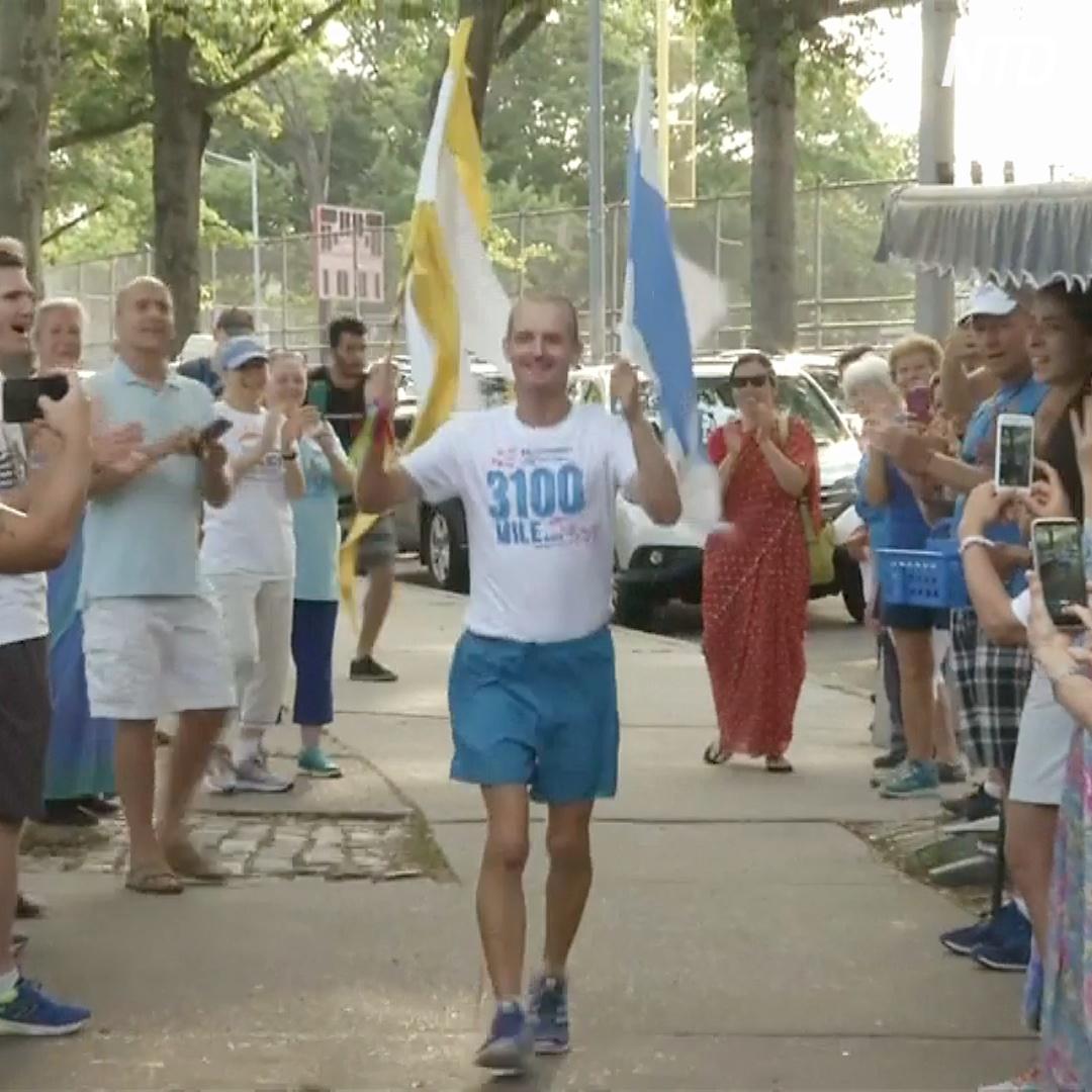 Завершился самый длинный в мире марафон, в котором бегают по кругу