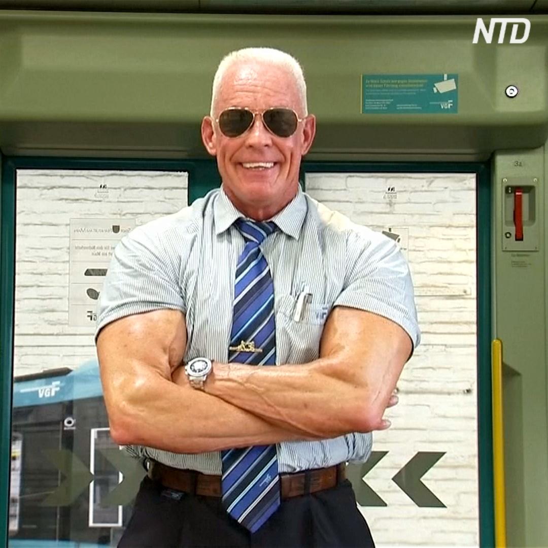 «Трамвайный босс»: будни вагоновожатого-бодибилдера