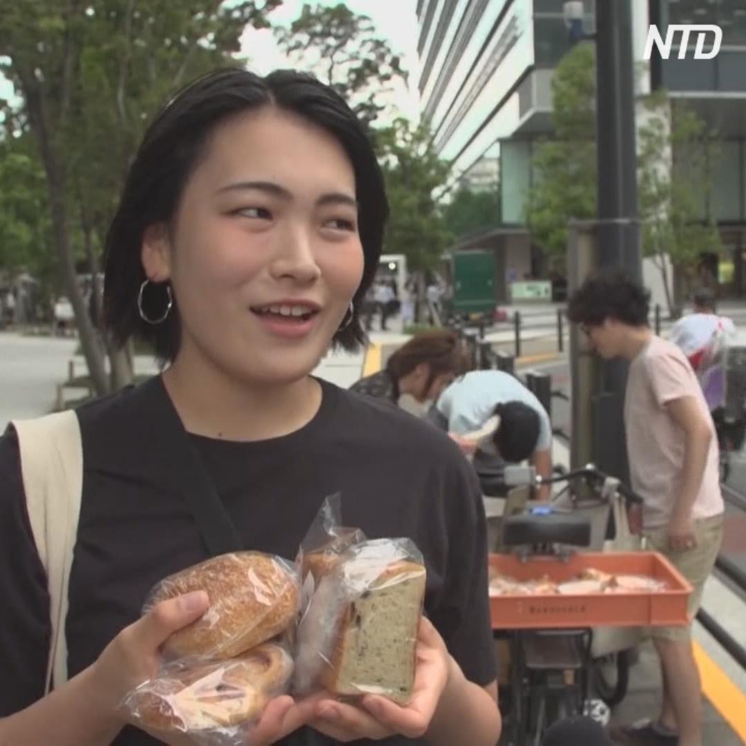 Как в Японии спасают несвежие булочки