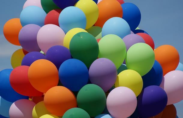 Воздушные и гелиевые шары с доставкой по Москве