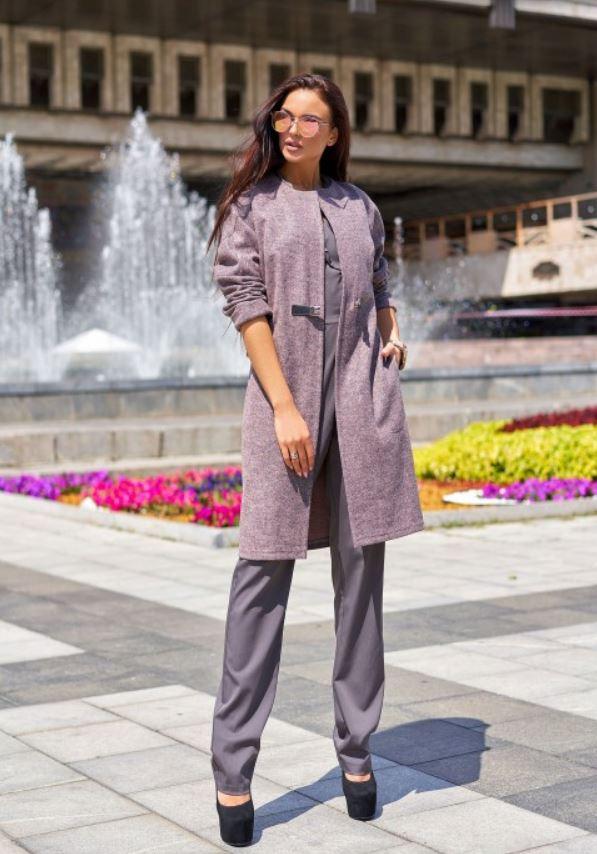 Oblegchennoe palto Dzhessi - Jadone Fashion – женская одежда оптом