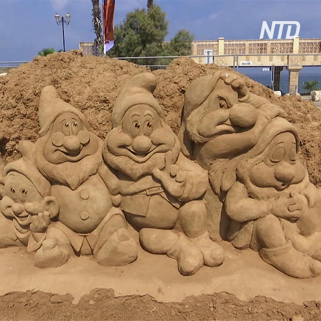 Фестиваль в Ашкелоне: герои сказок ожили в песке