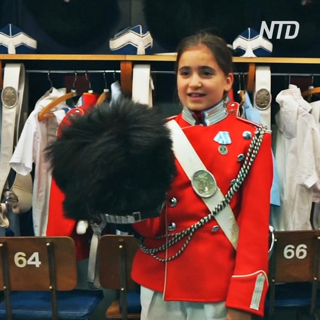 В Дании детский почётный караул парка Тиволи отмечает 175-летний юбилей