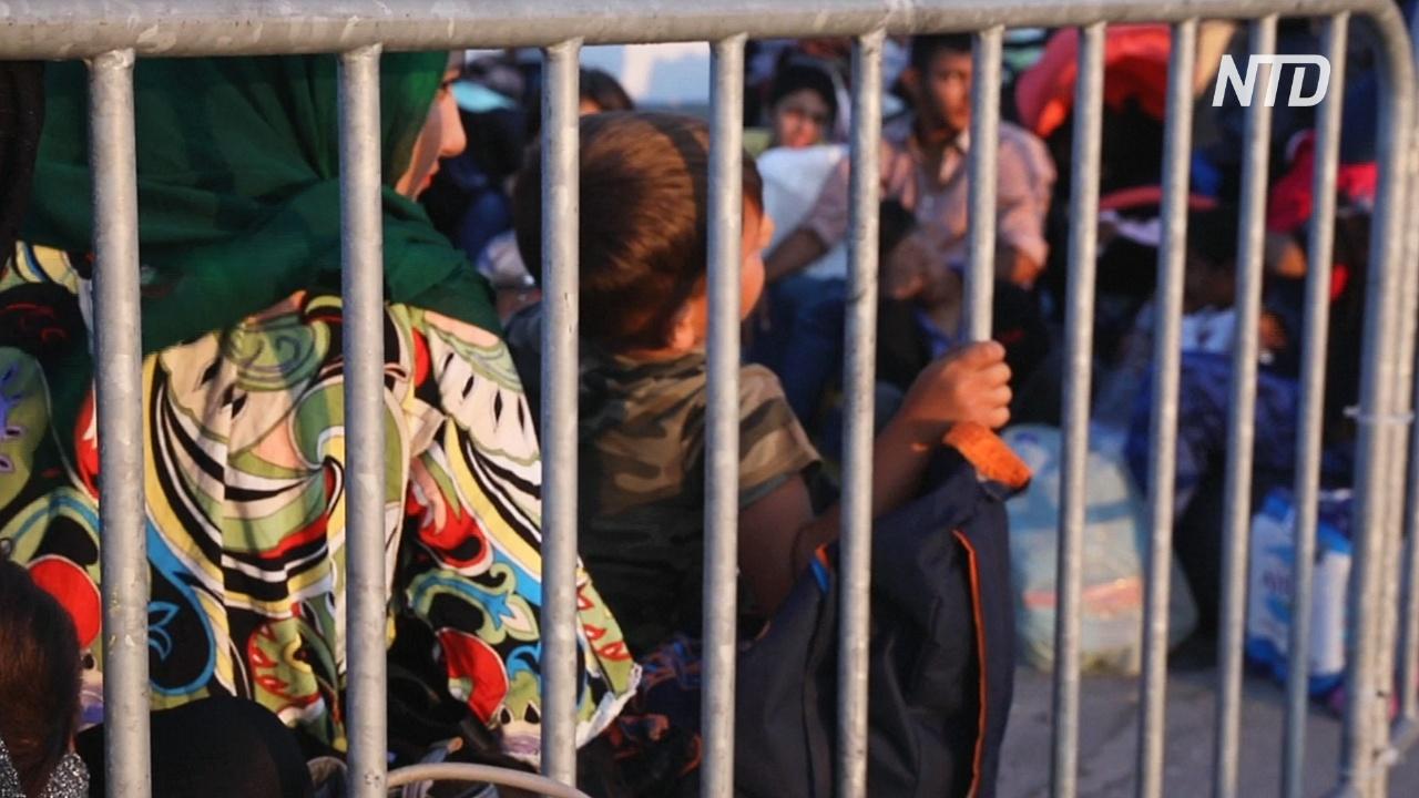 Власти Греции переселяют мигрантов с Лесбоса на материк