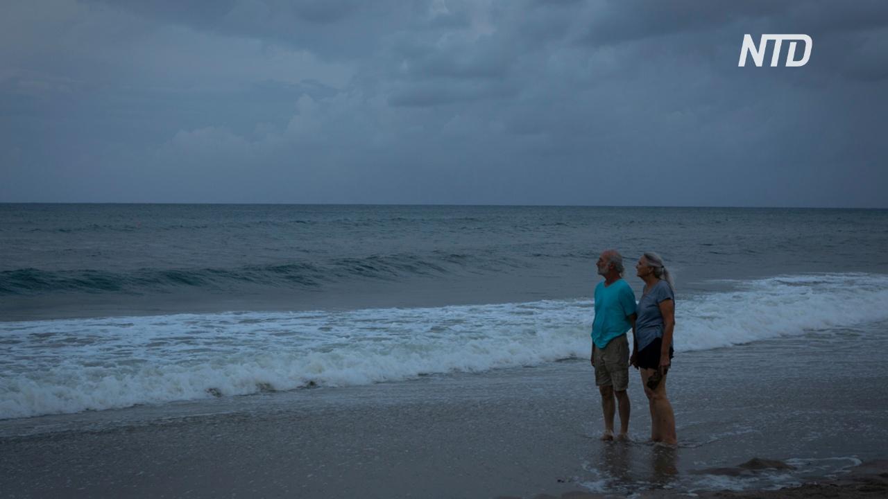 Во Флориде ждут ливней и сильных ветров из-за урагана «Дориан»