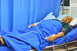 В Индии 74-летняя женщина родила двух девочек