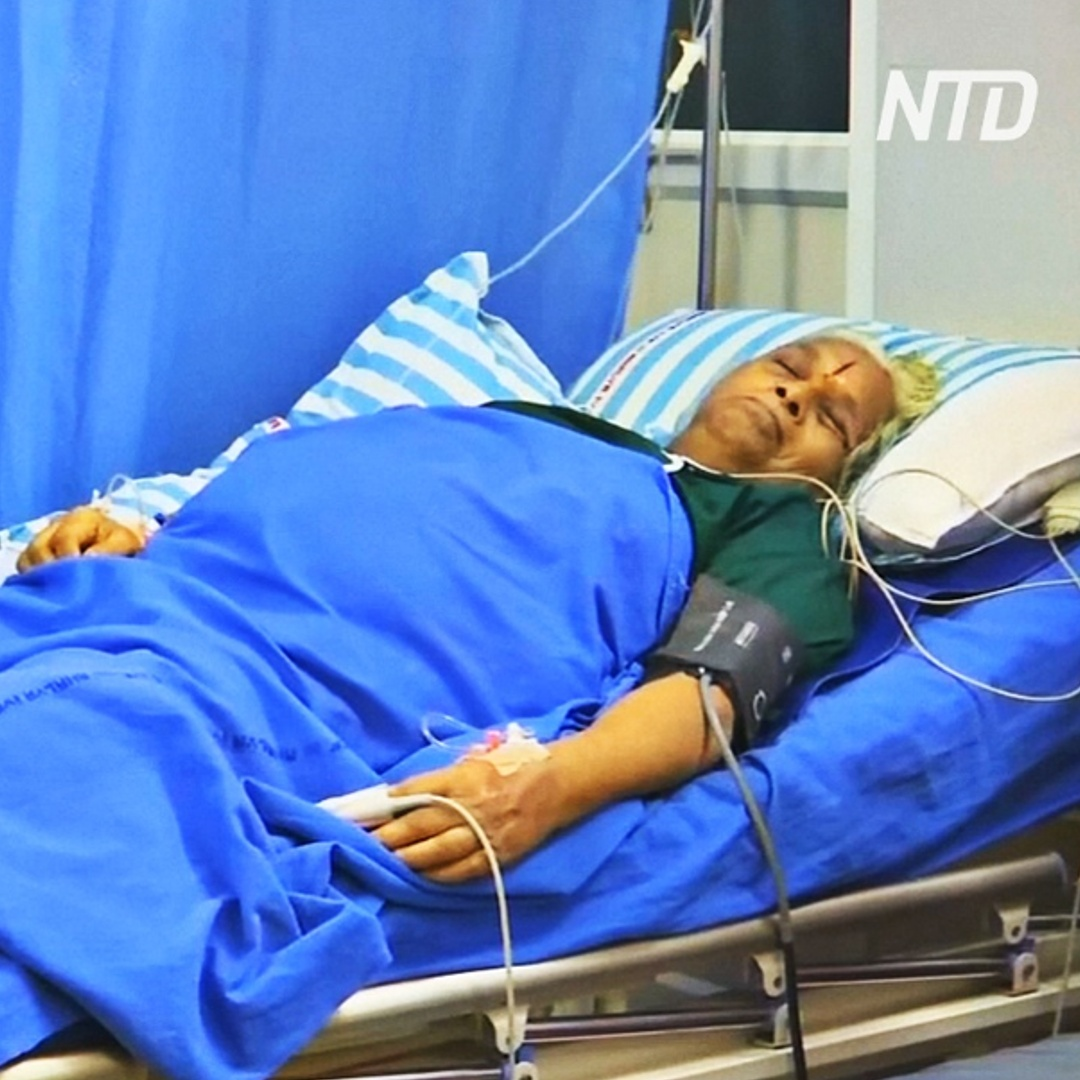 74-летняя индианка родила двух девочек