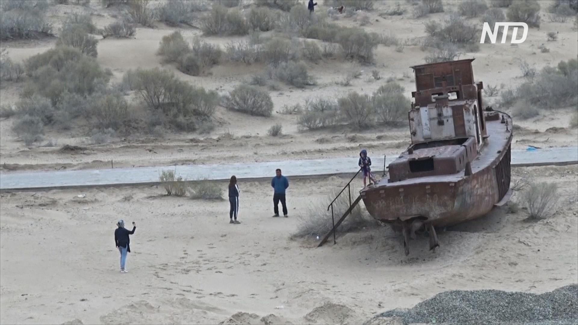Место экологической катастрофы привлекает всё больше туристов