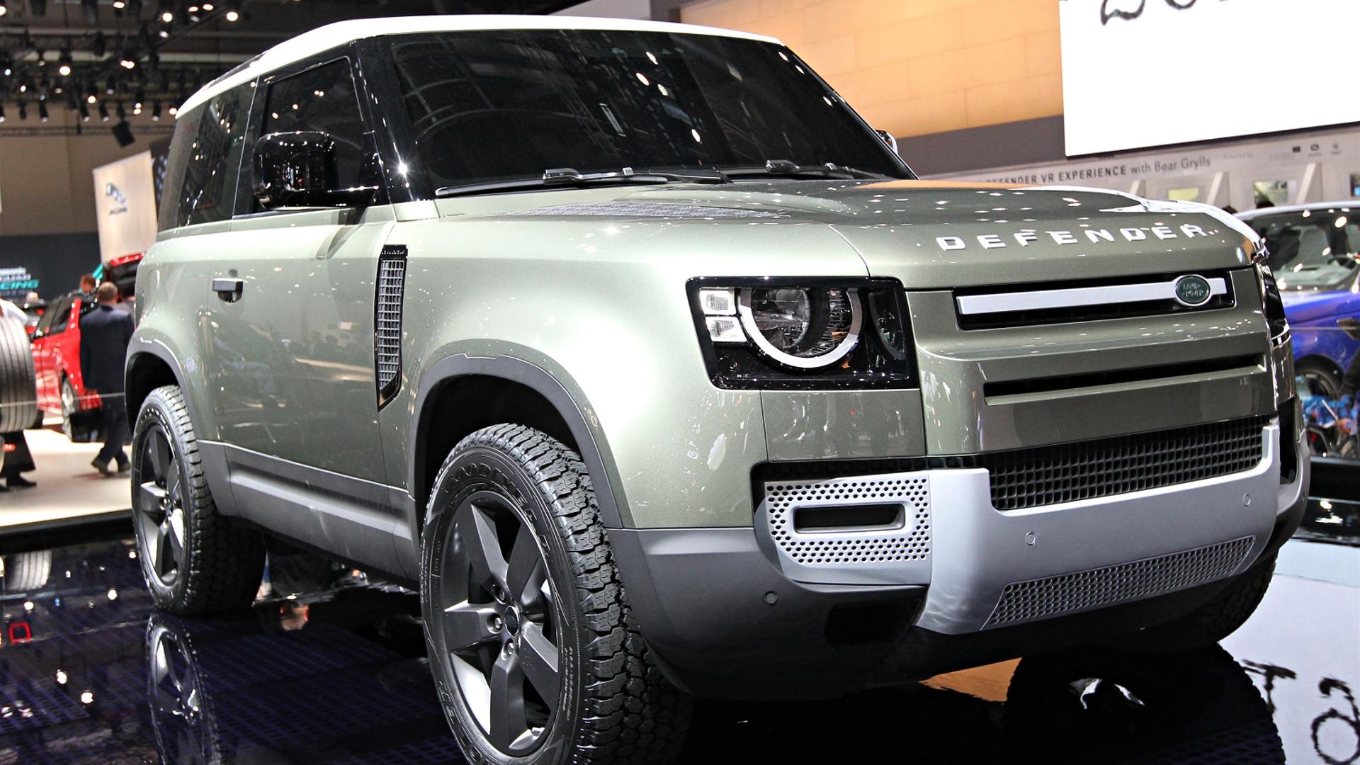 Мотор-шоу во Франкфурте: легендарный Land Rover Defender вернулся в новом облике