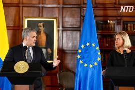 ЕС выделит Колумбии 30 млн евро для помощи венесуэльским беженцам