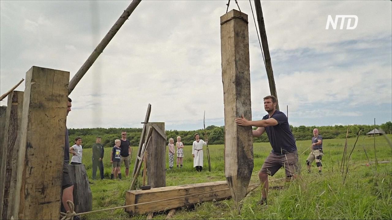Самый длинный в мире мост викингов построили в Дании