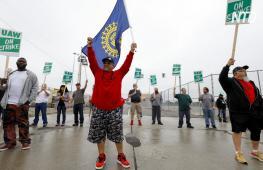 Более 49 тыс. работников GM вышли на забастовку в США