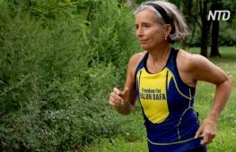 Медитация вдохновила пожилую американку на триатлон и защиту прав человека