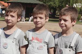 Первый фестиваль близнецов прошёл в Греции