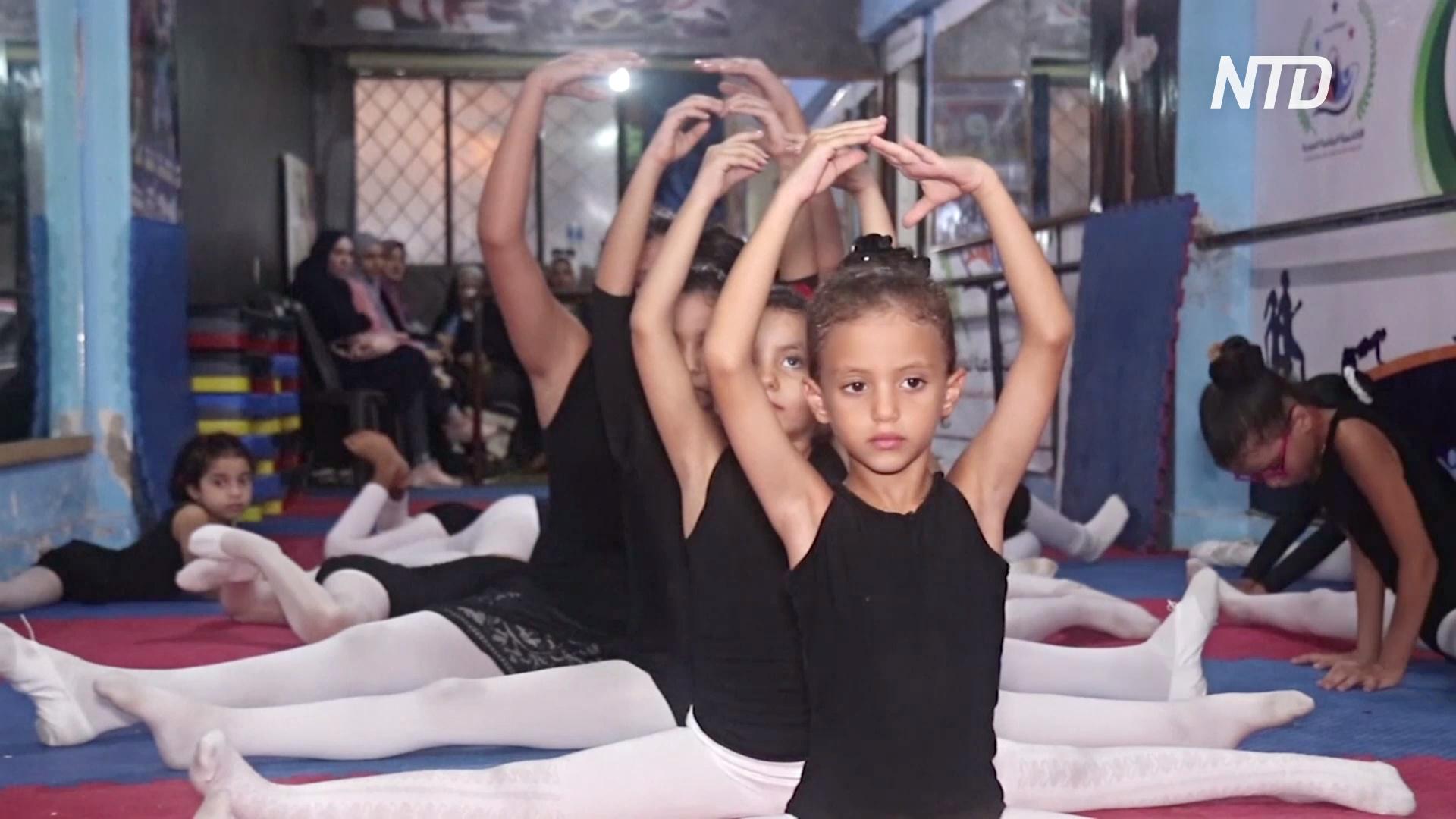 Школа балета для беженцев из Сирии работает в Александрии