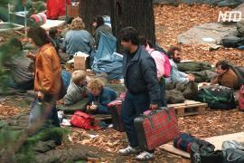 Бегство немцев из Восточной Германии: в Праге вспомнили события 1989 года