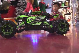 В Лондоне протестировали самые популярные игрушки к Рождеству