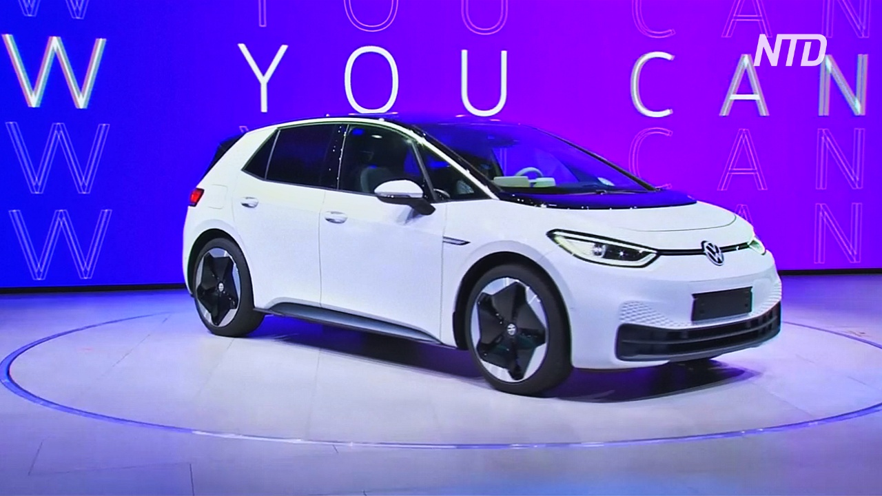 Автосалон во Франкфурте: электроновинки от VW, Porsche и Honda