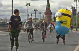 Осенний велопарад в Москве собрал 30 тысяч участников