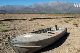 70% территории Чили страдает от засухи