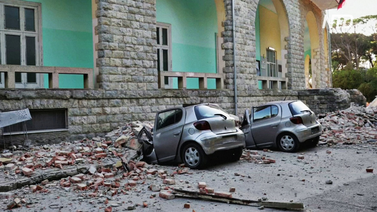 Землетрясение в Албании: более 100 пострадавших