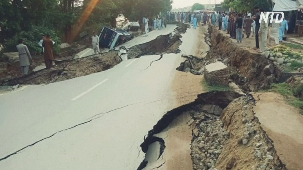 Землетрясение в Пакистане: десятки погибших, сотни пострадавших